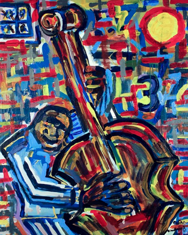 Bass Player 2 - ArtLifting