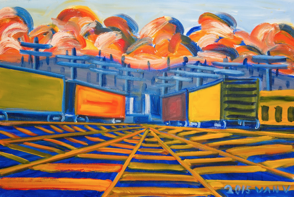 South Seattle Rail Road 2 - ArtLifting