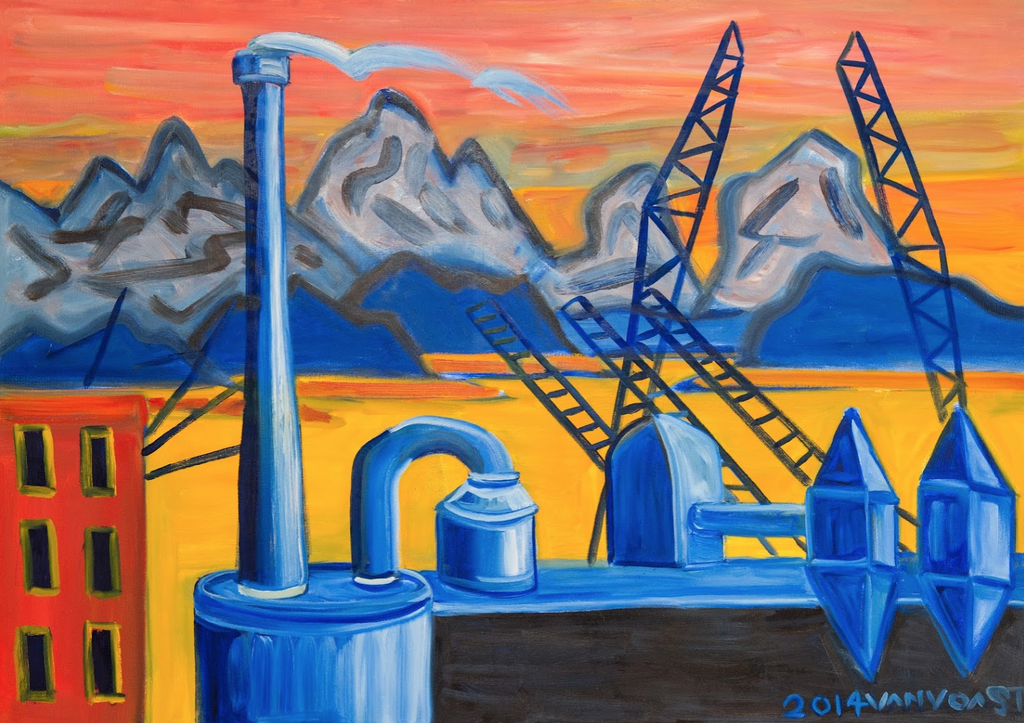 First Ave Steam Plant - ArtLifting