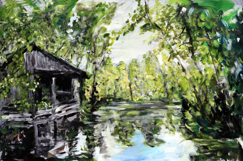 Louisiana Bayou Lake 2 - ArtLifting
