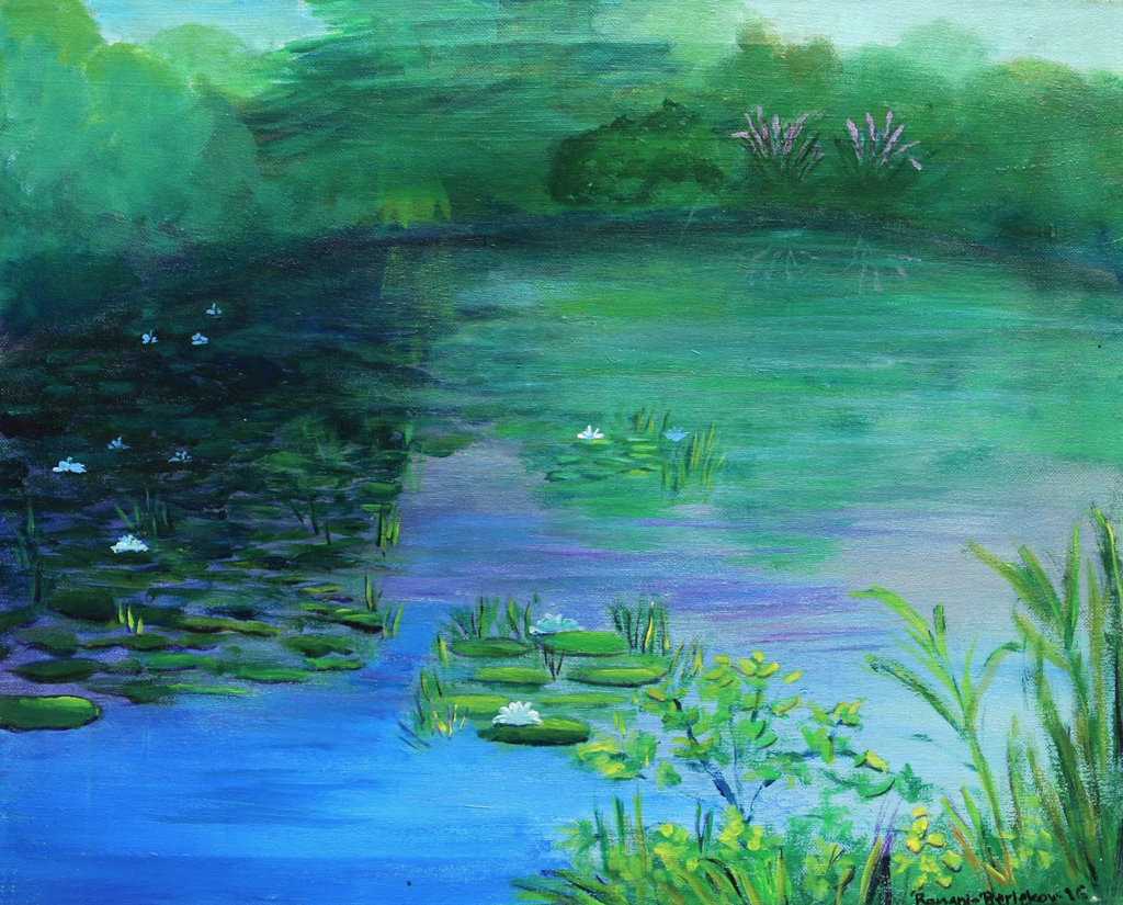 Pine Banks Pond, Malden - ArtLifting
