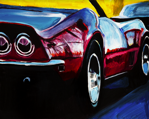 Little Red Corvette - ArtLifting