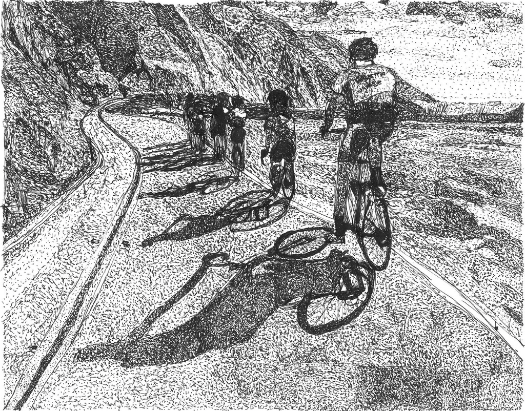 Big Sur Bike Race - ArtLifting