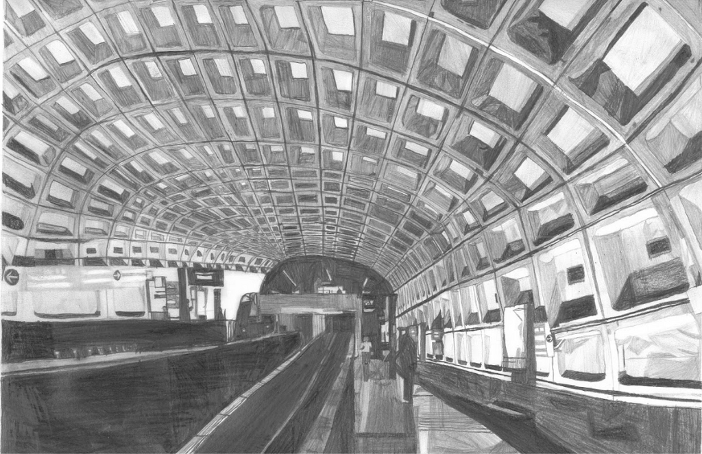 The Washington D.C. Transit - ArtLifting