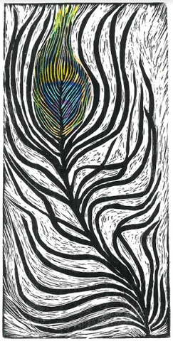 Peacock Feather - ArtLifting