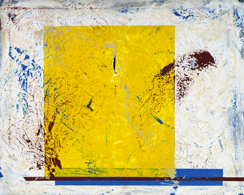 Untitled Yellow Square