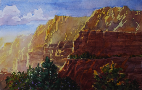 Red Rock Redoubt - ArtLifting