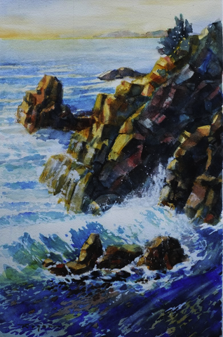 Rocks and Water - ArtLifting