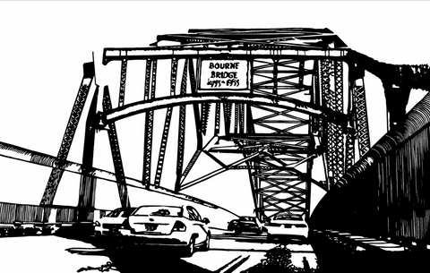 Bourne Bridge - ArtLifting