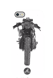 Front View Motorcycle Phone Case