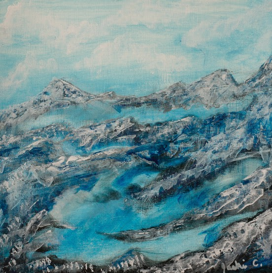 Mountain Mist - ArtLifting