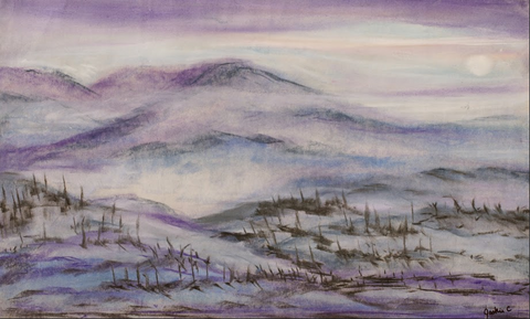 Winter Hills - ArtLifting