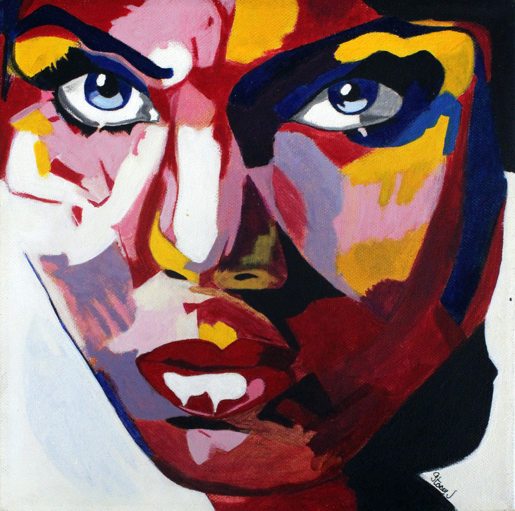 Study of 755 by Françoise Nielly - ArtLifting