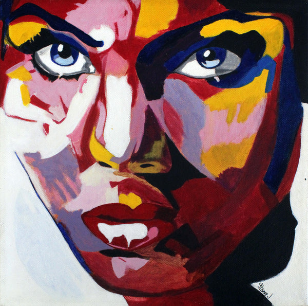 Study of 755 by Françoise Nielly