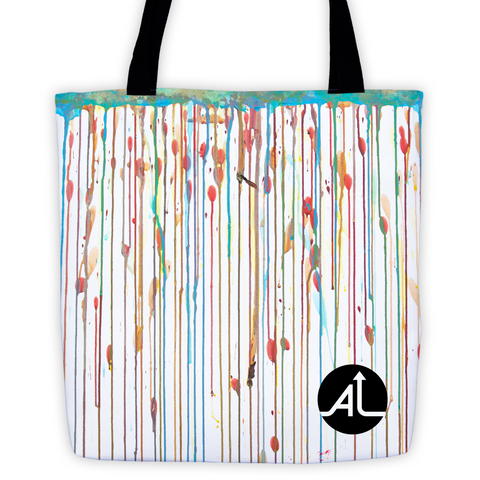 Drips Always Go Down Tote Bag