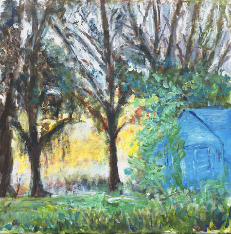 Shack in the Woods - ArtLifting