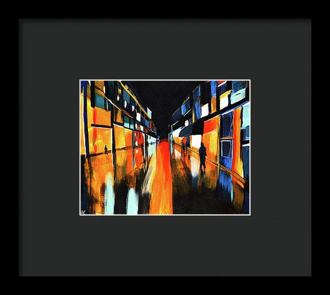 A Night On The Town Ctp - Framed Print - ArtLifting
