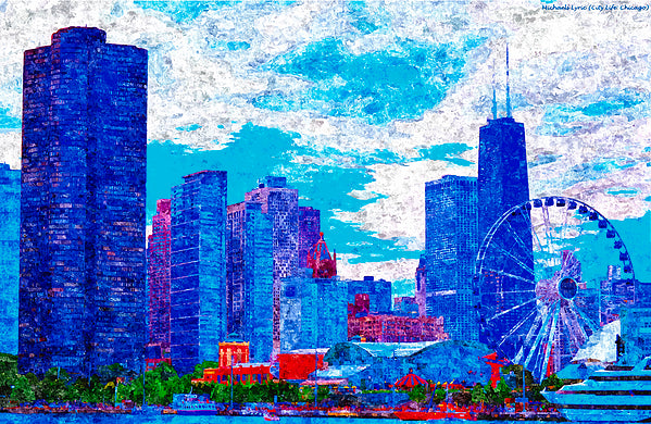 City Life Chicago - ArtLifting