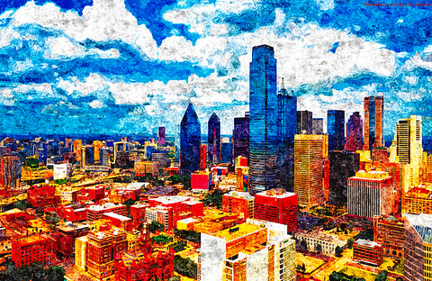 City Life Dallas - ArtLifting