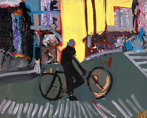 Cyclist - ArtLifting