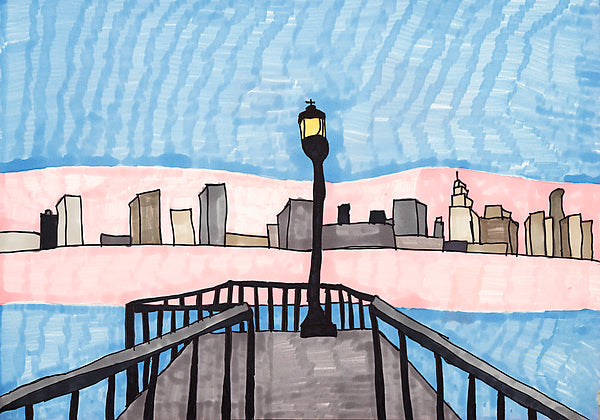 Detroit: Scenic Overlook - ArtLifting