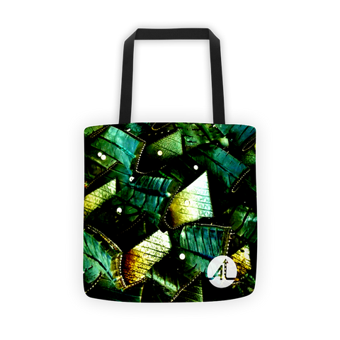 Groveling in Emeralds Tote Bag Tote Bag