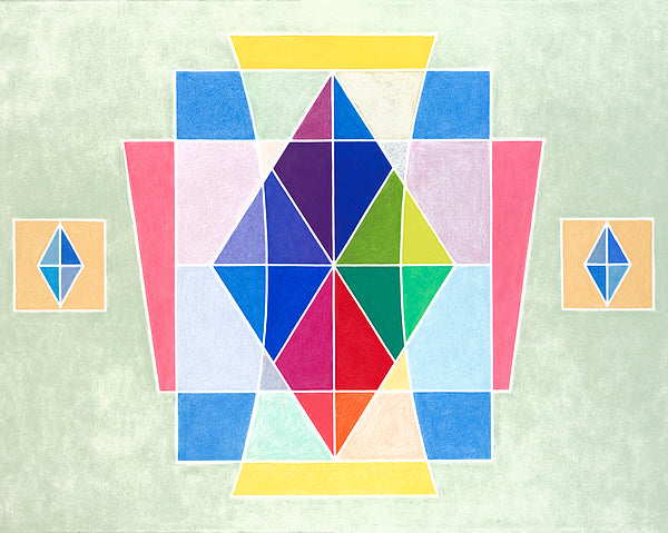 Sacred Geometry Rainbow - ArtLifting