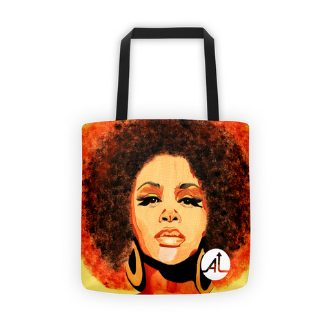 Jill Scott Tote Bag
