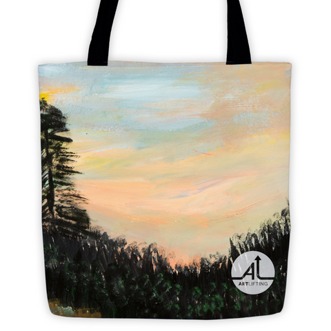 NE Sunset Tote Bag