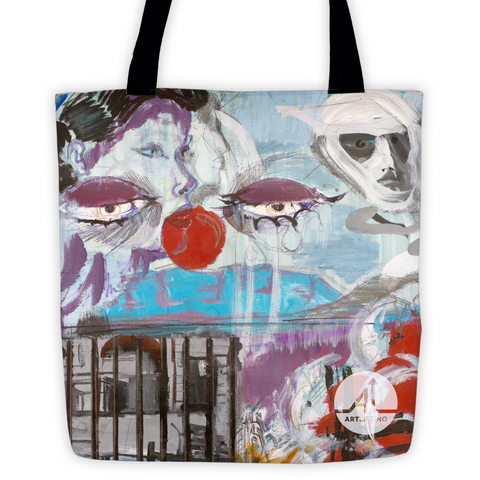 The Theater of War Tote Bag