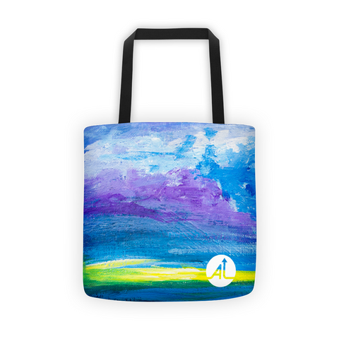 Storm Arising Tote Bag
