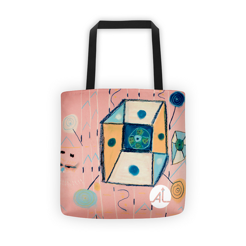 Box and Lollies Tote Bag