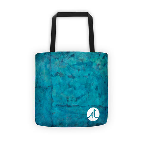 Blue Bricks Tote Bag