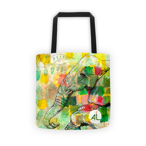Friendly Observer Tote Bag