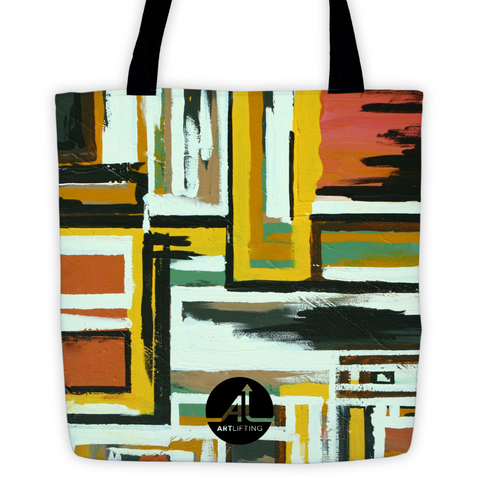 Fluid Spaces Tote Bag