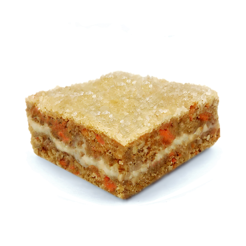 carrot cake blondie