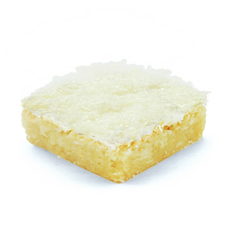 coconut cake blondie