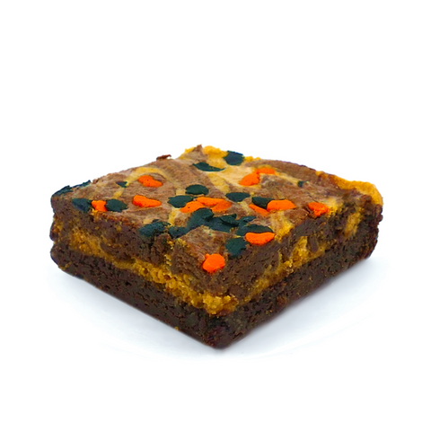 great pumpkin cheesecake brownie