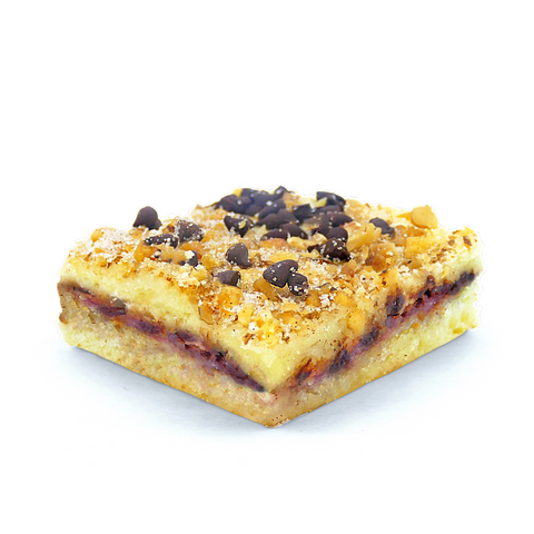 raspberry rugelach blondie