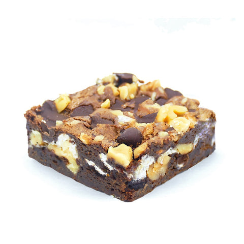 rocky road brownie
