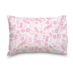 Pink Folk Animals Ultra Microfiber Bed Sheet Set