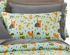 Woodland Creatures Ultra Microfiber Bed Sheet Set