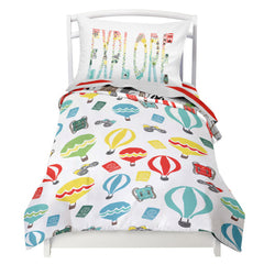 World Explorer 4 Piece Toddler Bedding Set