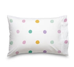 Colorful Roaming Polka Dots Sheet Set