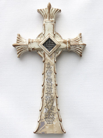 Custom Memorial Cross