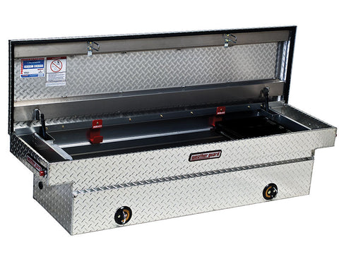 Model 143-0-01 E-LINE̴å Saddle Box, Aluminum, Full, 10.4 cu ft