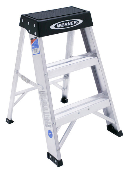 Werner 150B 2 ft Type IA Aluminum Step Stool