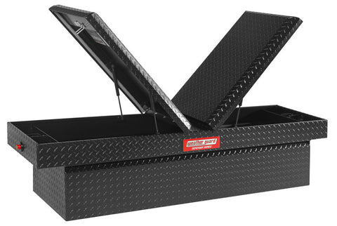 DEFENDER SERIES 300207-53-01 Full Size Cross Box 71 in x 19-3/4 in x 17.8, Black