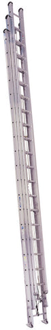 Werner 560-3 60 ft Type I Aluminum Round Rung Extension Ladder