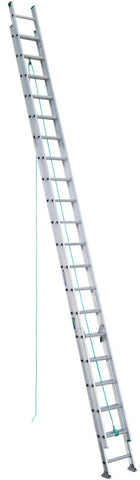Werner D1240-2 40 ft Type II Aluminum D-Rung Extension Ladder